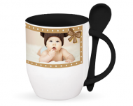 Mug with spoon, Your Tiny Tot's Mug