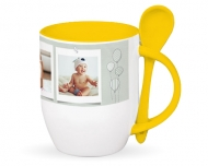 Mug with spoon, My First Big Moments