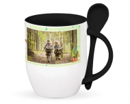 Mug with spoon, Kid's Hobbies
