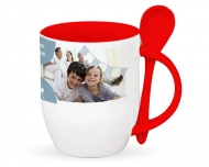 Mug with spoon, Family Get-Togethers