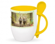 Mug with spoon, Kid's Hobbies