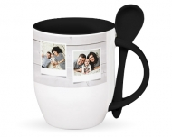 Mug with spoon, Newest Memories