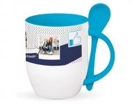 Mug with spoon, Best friends